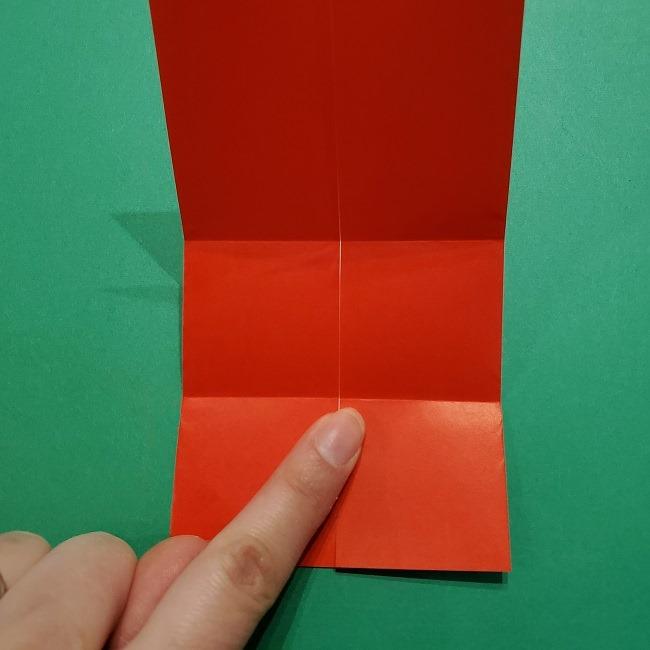 ポニョの折り紙 簡単な作り方折り方3体 (9)