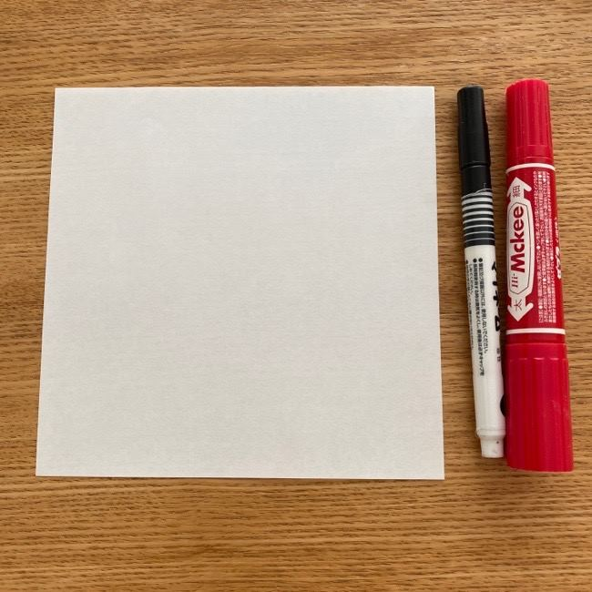 マリオ「テレサ」の折り紙*用意する物