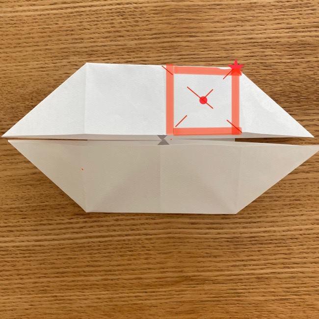 マリオのテレサの折り紙*折り方作り方 (13)