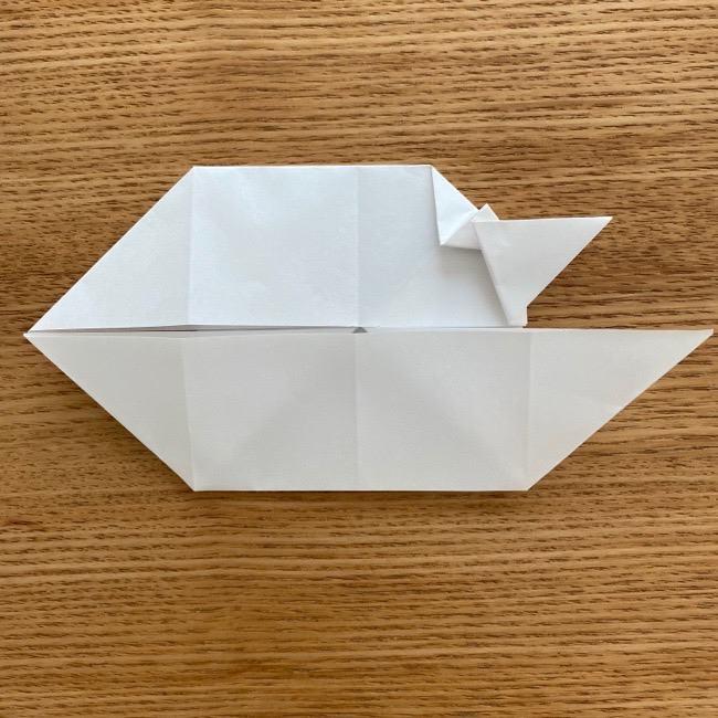 マリオのテレサの折り紙*折り方作り方 (17)