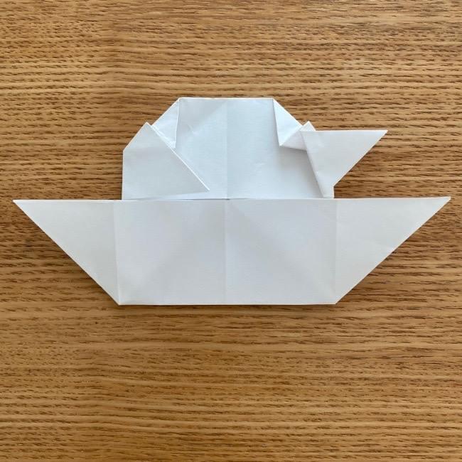 マリオのテレサの折り紙*折り方作り方 (19)