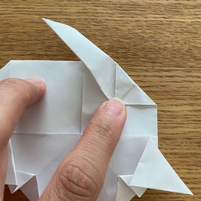 マリオのテレサの折り紙*折り方作り方 (23)