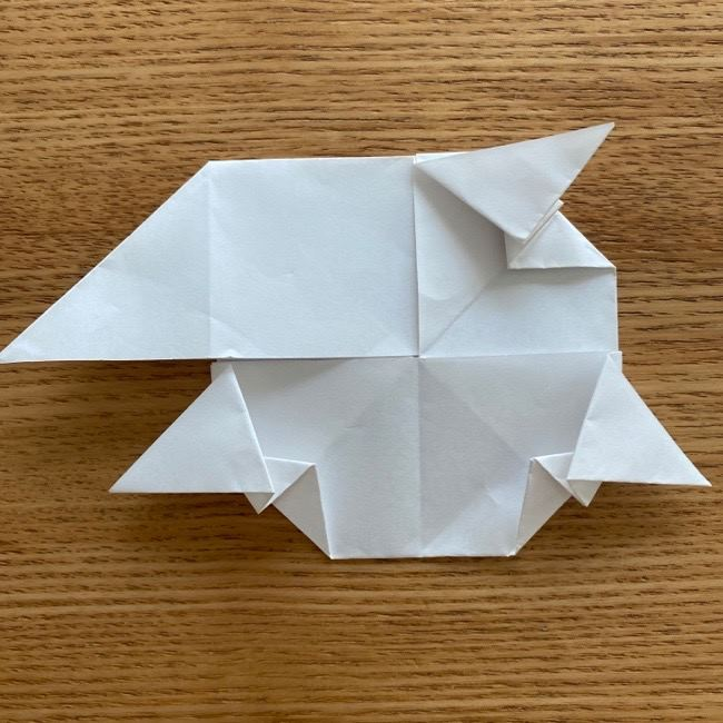 マリオのテレサの折り紙*折り方作り方 (25)