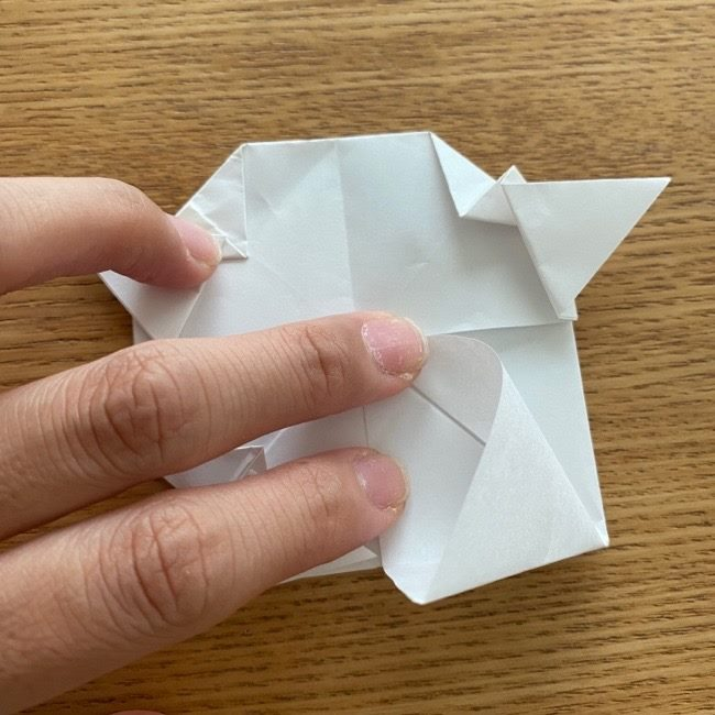 マリオのテレサの折り紙*折り方作り方 (26)
