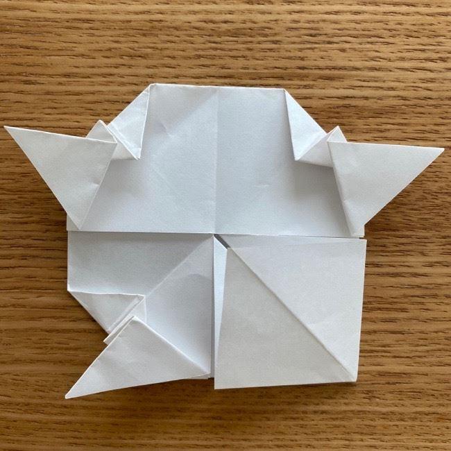 マリオのテレサの折り紙*折り方作り方 (27)