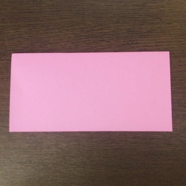 ミュウの折り紙 簡単な折り方作り方 (1)
