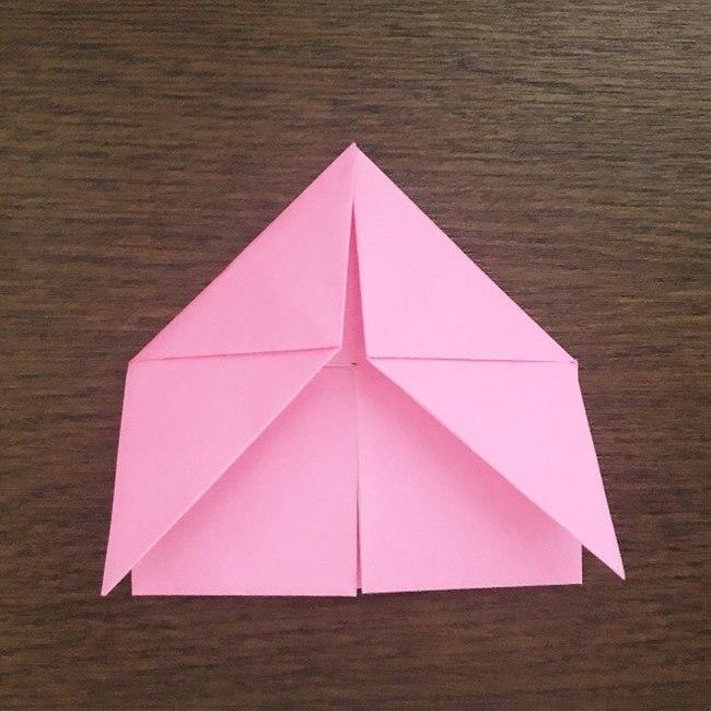 ミュウの折り紙 簡単な折り方作り方 (10)