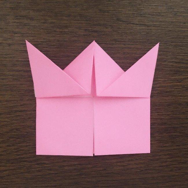 ミュウの折り紙 簡単な折り方作り方 (11)