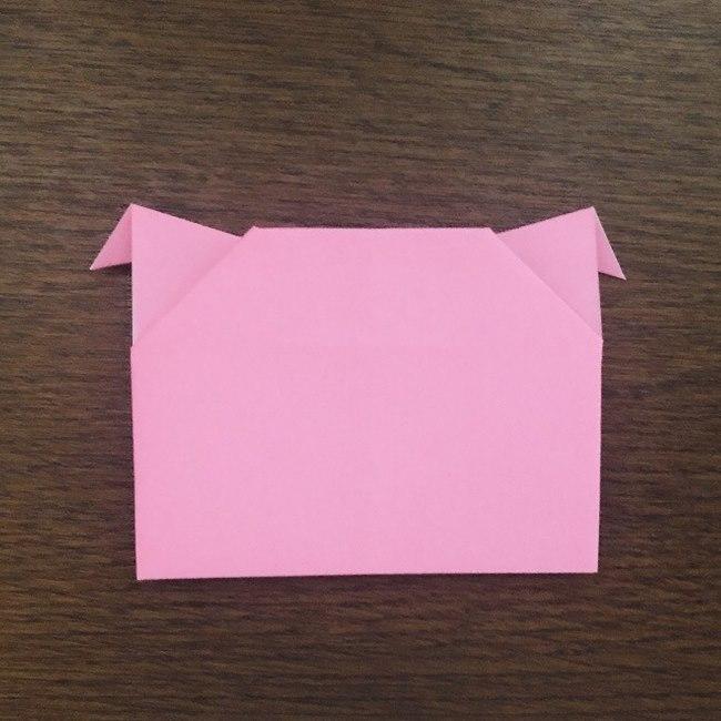 ミュウの折り紙 簡単な折り方作り方 (13)
