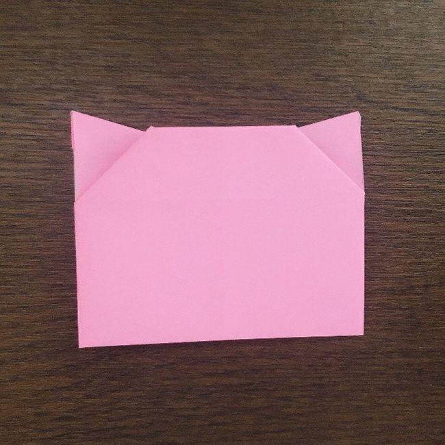ミュウの折り紙 簡単な折り方作り方 (15)