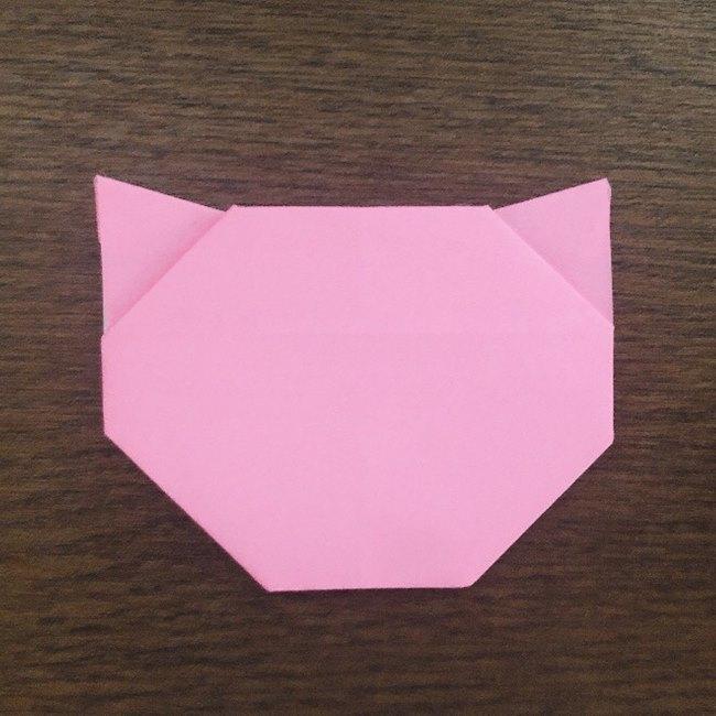 ミュウの折り紙 簡単な折り方作り方 (17)