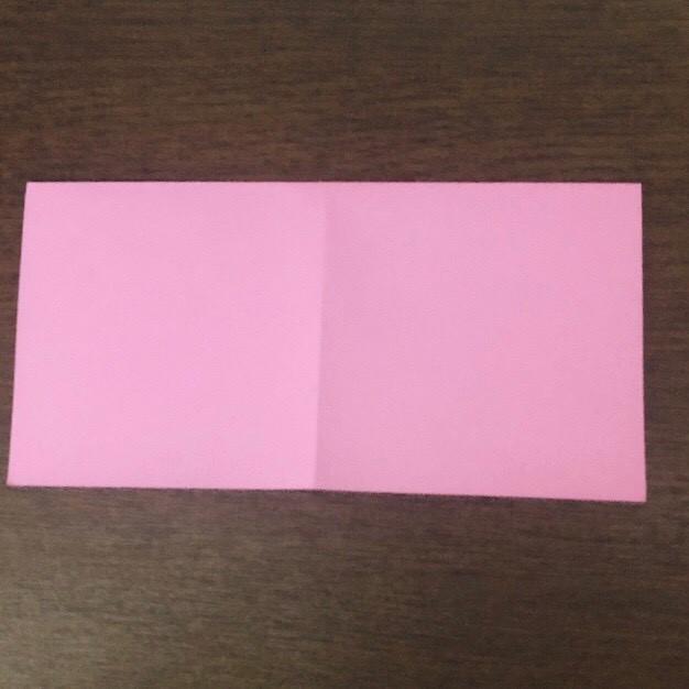 ミュウの折り紙 簡単な折り方作り方 (2)