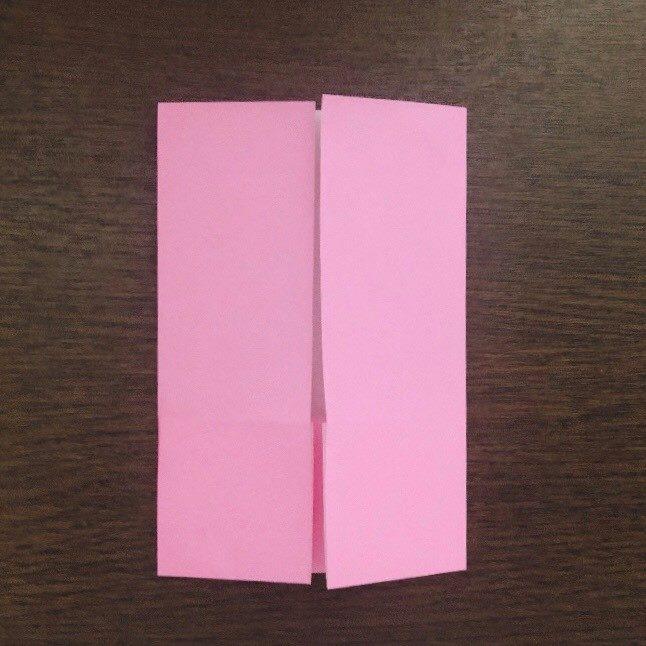 ミュウの折り紙 簡単な折り方作り方 (5)