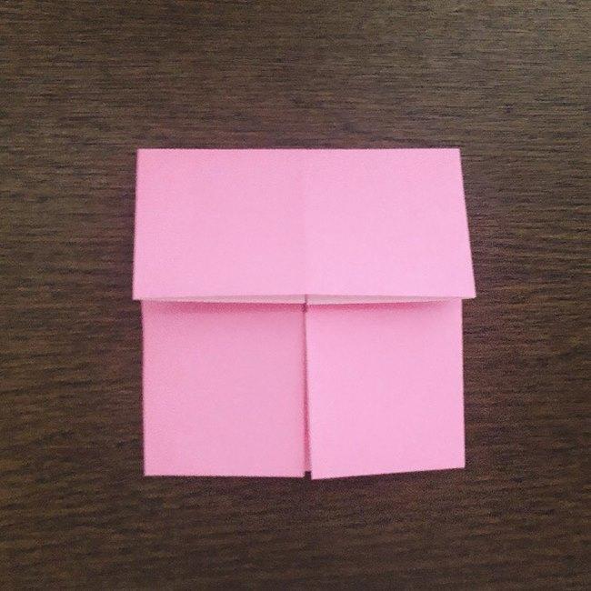 ミュウの折り紙 簡単な折り方作り方 (6)