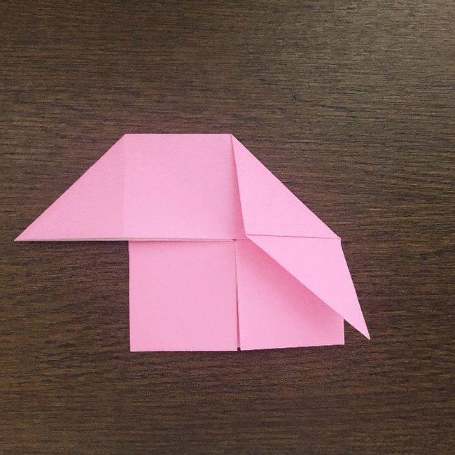 ミュウの折り紙 簡単な折り方作り方 (9)