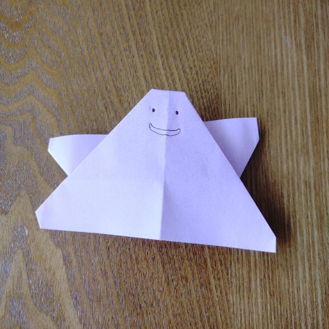 メタモン 折り紙の折り方は超簡単!幼児も作れるポケモンの脱力系キャラクター