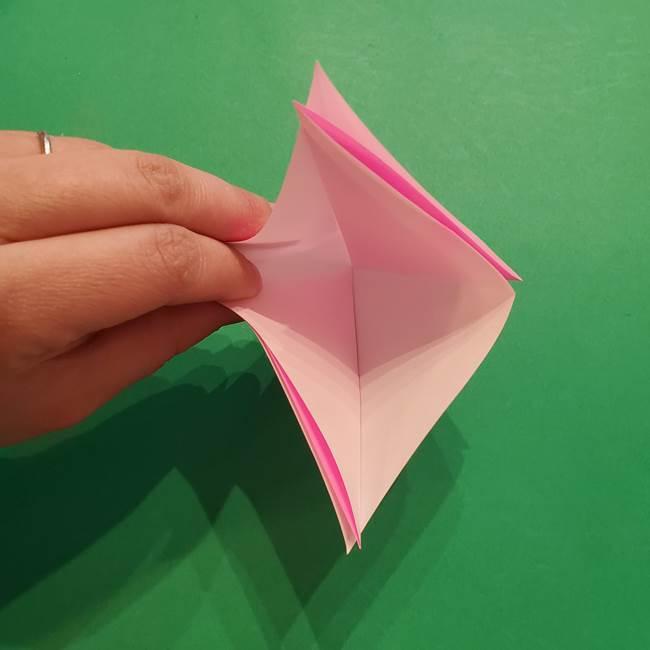 ヤドンの折り紙の折り方・作り方(10)