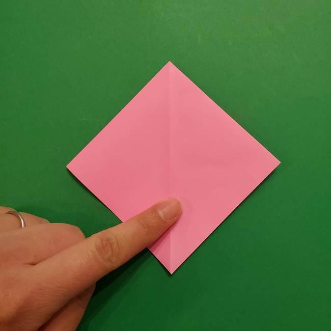 ヤドンの折り紙の折り方・作り方(11)