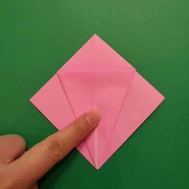 ヤドンの折り紙の折り方・作り方(12)