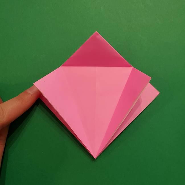 ヤドンの折り紙の折り方・作り方(14)