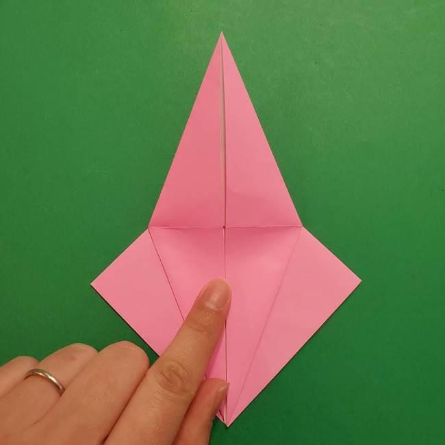 ヤドンの折り紙の折り方・作り方(16)