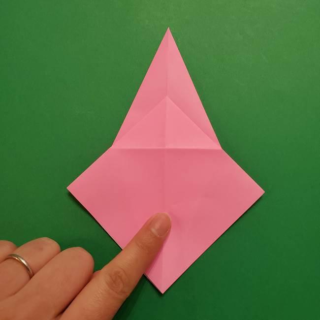 ヤドンの折り紙の折り方・作り方(17)