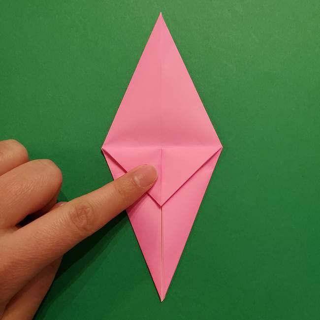 ヤドンの折り紙の折り方・作り方(18)