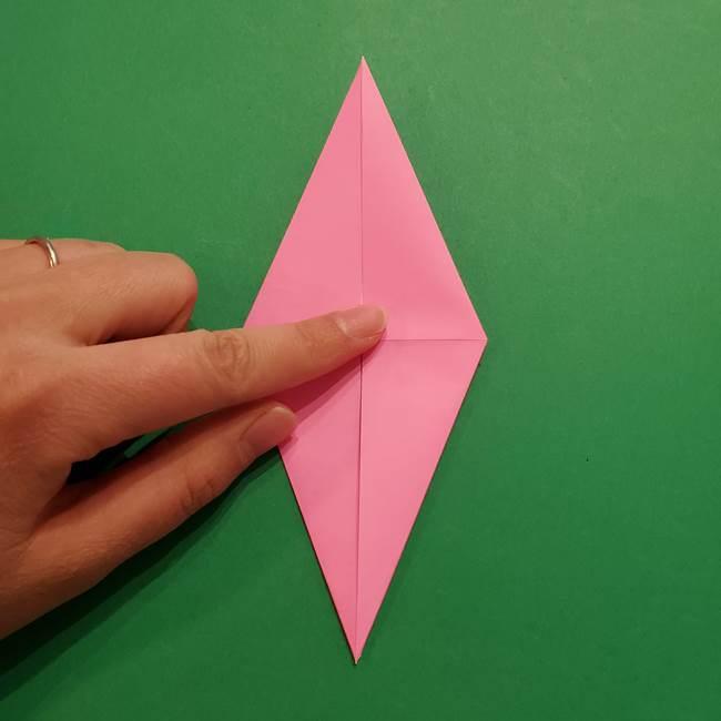 ヤドンの折り紙の折り方・作り方(19)
