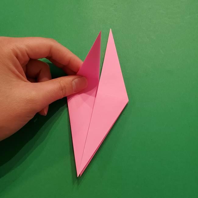 ヤドンの折り紙の折り方・作り方(20)