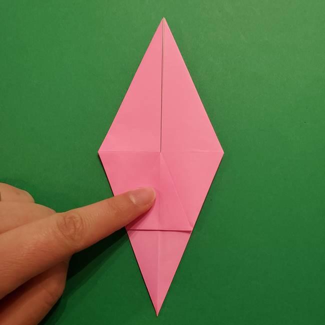 ヤドンの折り紙の折り方・作り方(21)