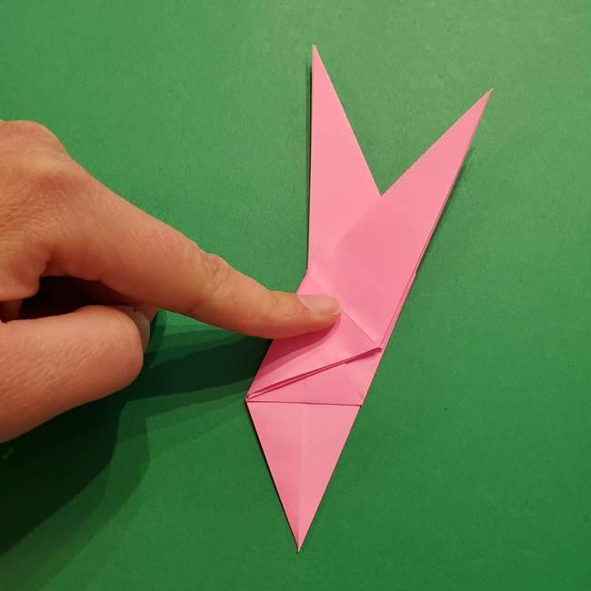 ヤドンの折り紙の折り方・作り方(22)