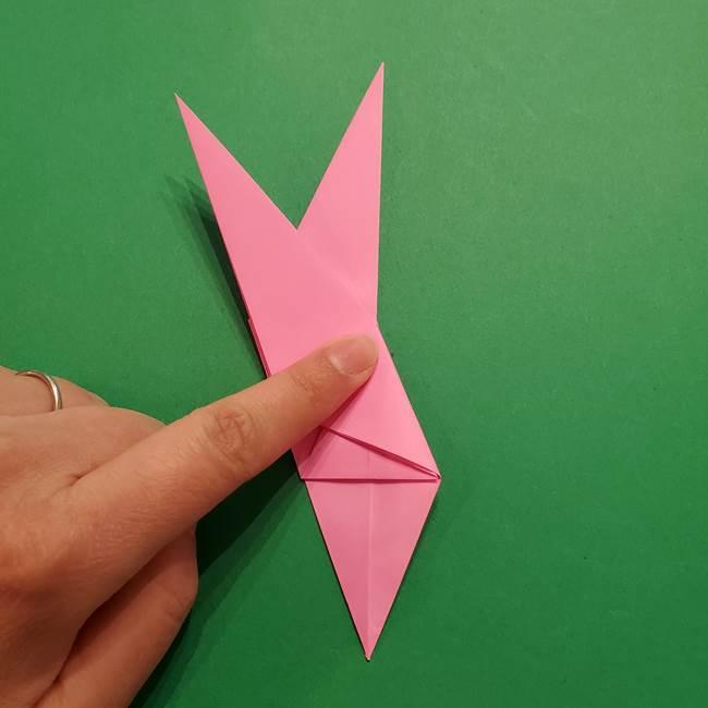 ヤドンの折り紙の折り方・作り方(23)