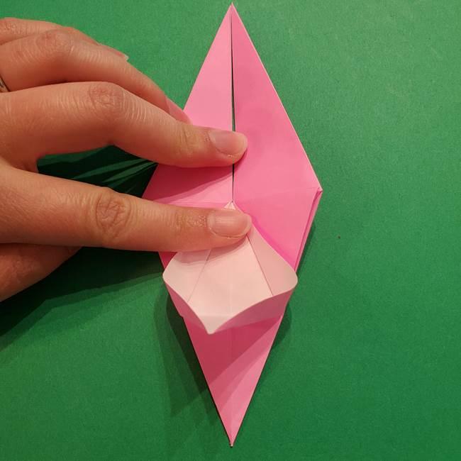 ヤドンの折り紙の折り方・作り方(25)