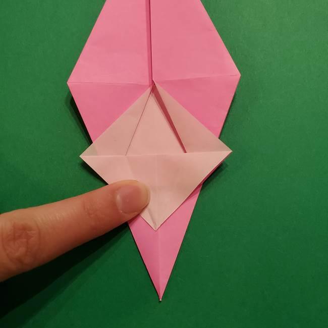 ヤドンの折り紙の折り方・作り方(27)