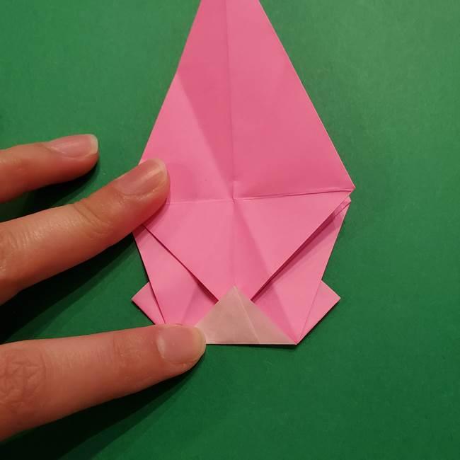 ヤドンの折り紙の折り方・作り方(30)