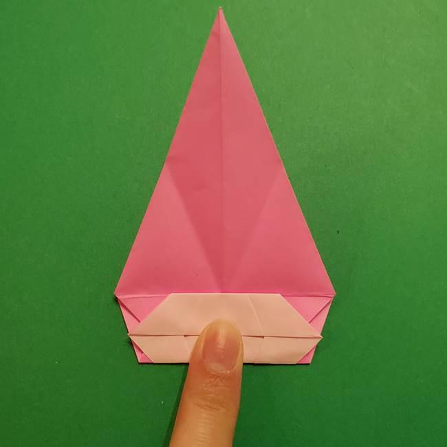 ヤドンの折り紙の折り方・作り方(31)