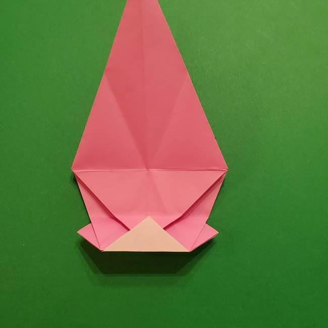 ヤドンの折り紙の折り方・作り方(32)