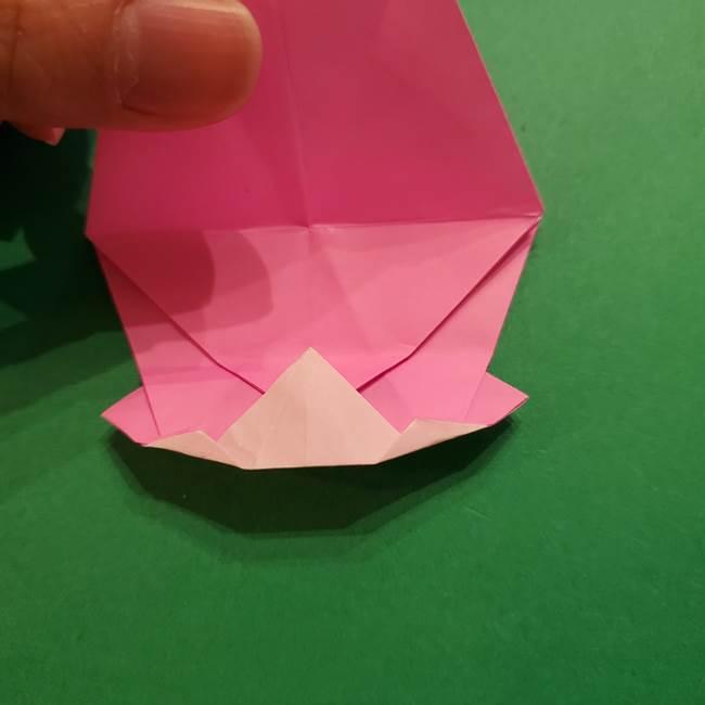 ヤドンの折り紙の折り方・作り方(33)