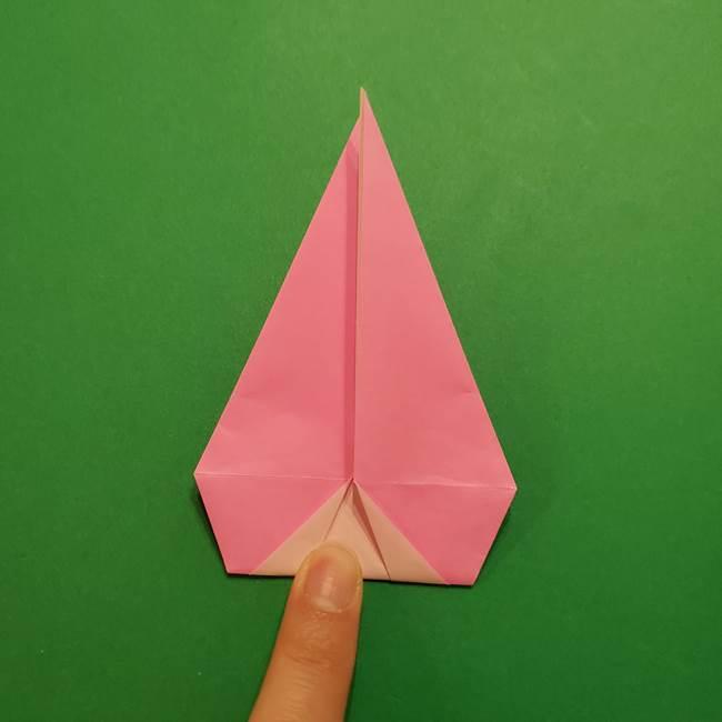 ヤドンの折り紙の折り方・作り方(35)