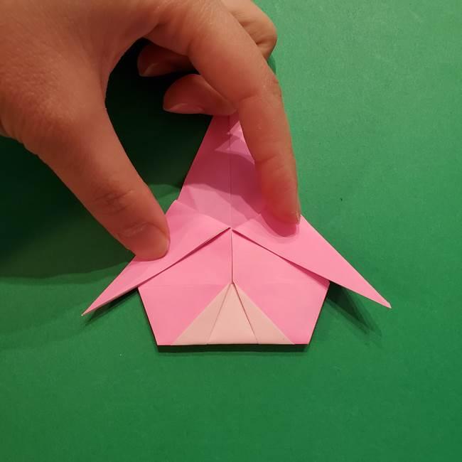 ヤドンの折り紙の折り方・作り方(36)