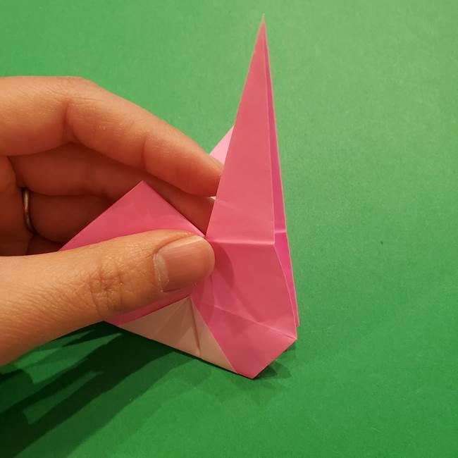 ヤドンの折り紙の折り方・作り方(37)