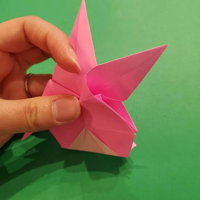 ヤドンの折り紙の折り方・作り方(38)
