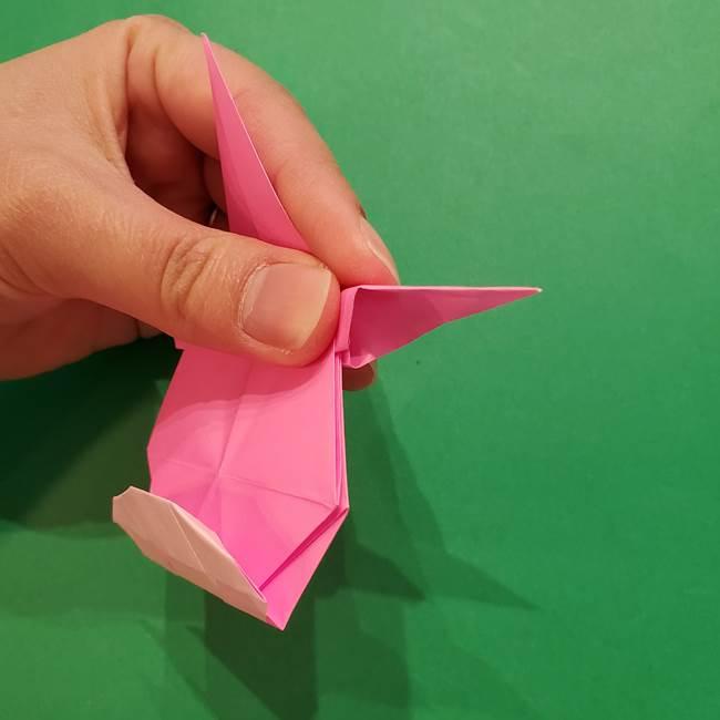 ヤドンの折り紙の折り方・作り方(42)