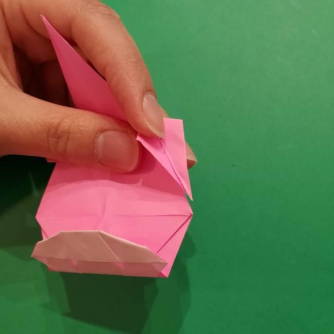 ヤドンの折り紙の折り方・作り方(43)