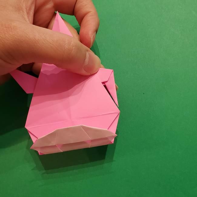 ヤドンの折り紙の折り方・作り方(44)