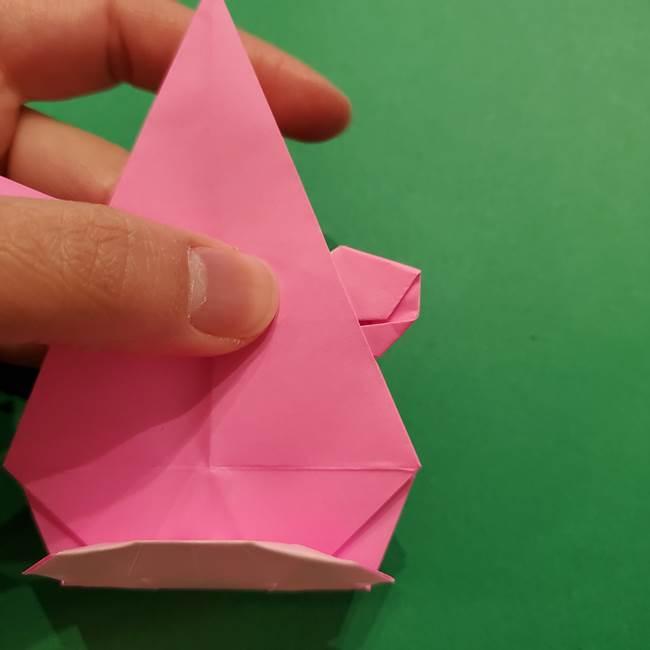 ヤドンの折り紙の折り方・作り方(46)
