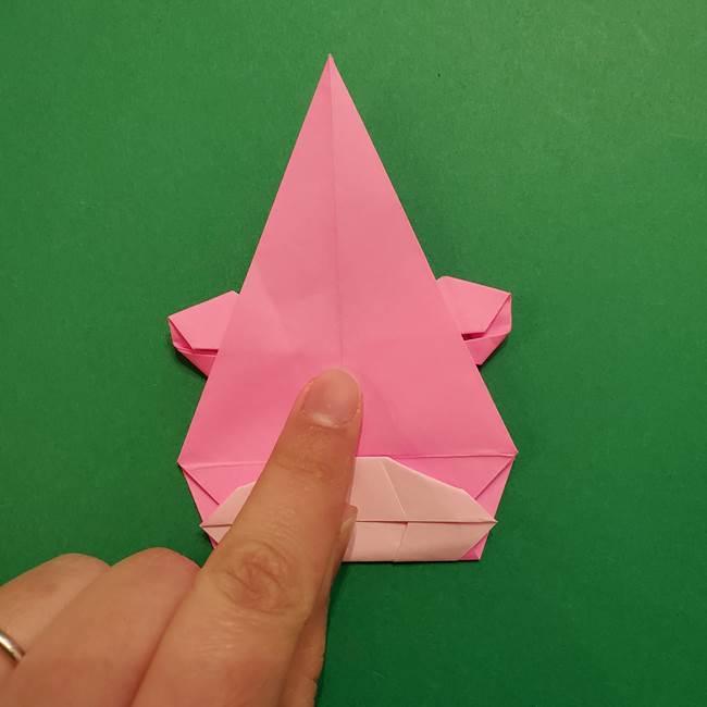 ヤドンの折り紙の折り方・作り方(47)