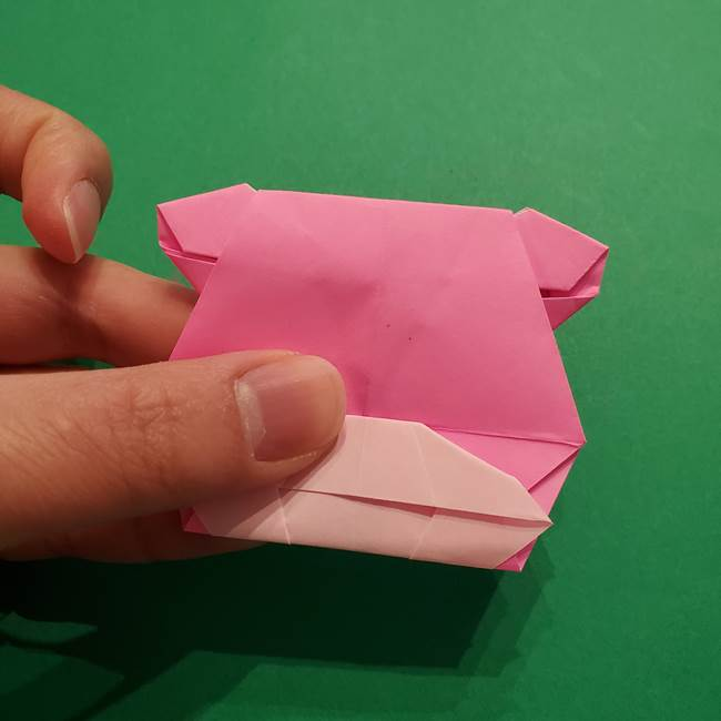ヤドンの折り紙の折り方・作り方(48)