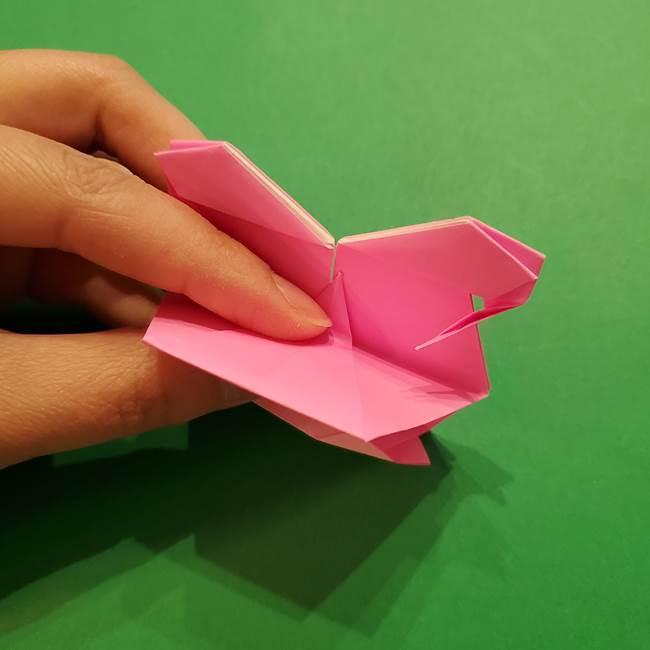 ヤドンの折り紙の折り方・作り方(49)