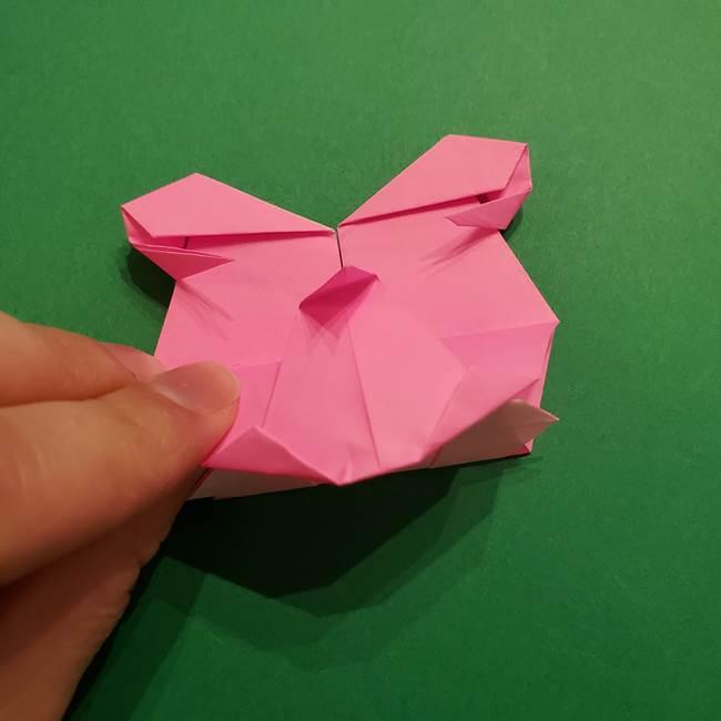 ヤドンの折り紙の折り方・作り方(50)